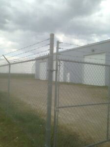 Renting single shop bays and also 1/2 acre secure property