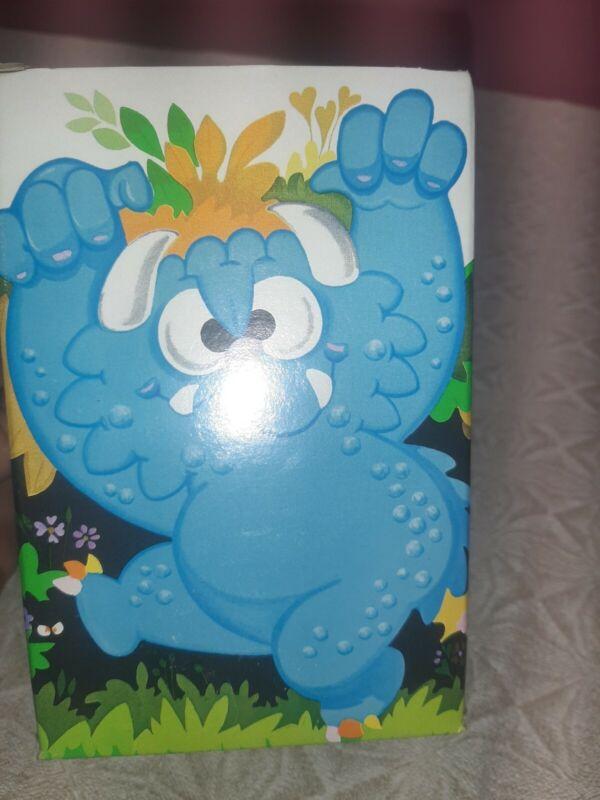 Vintage Avon Terrible Tubbles Floating Soap Dish & Soap 3oz Blue Kids Boxed Bath