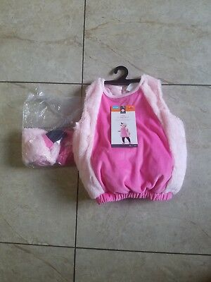 Halloween Costume Infant Flamingo Size 6-12 months - Infant Pink Flamingo Halloween Costume