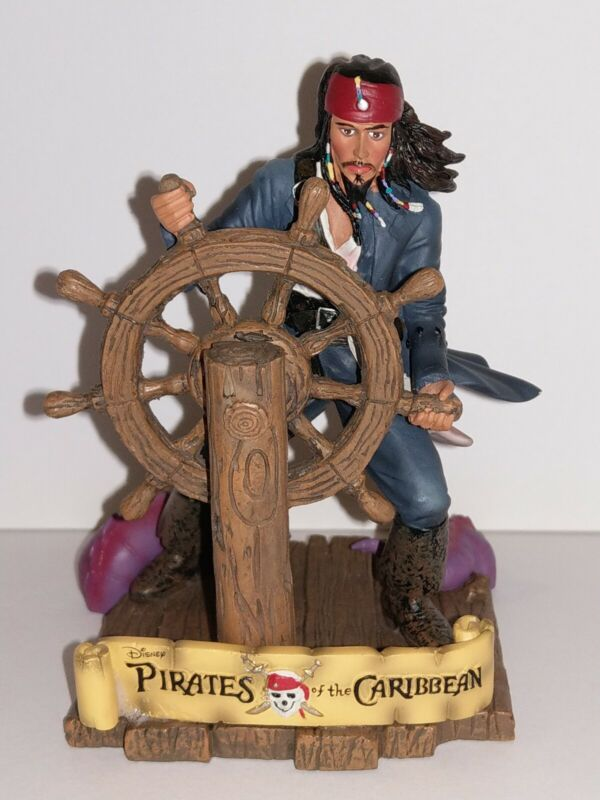 PIRATES OF THE CARIBBEAN JACK SPARROW  PAPERWEIGHT AT WORLD