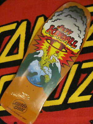 Santa Cruz Jeff Kendall Atomic Hands Skateboard Deck reissue vintage