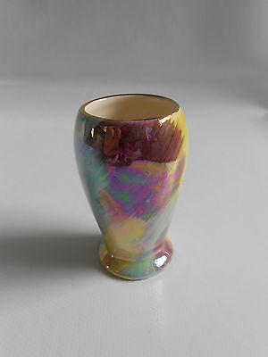 Vintage J Fryer Ltd Oldcourt Ware Hand Painted Lustre 7 1/2 cm