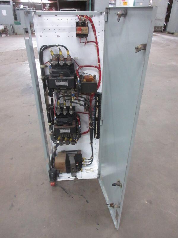 "General Electric GE 8000 Size 3 Reversing Starter 50 Amp Breaker 42"" MCC Bucket"