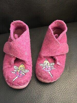 SUPERFIT Mädchen Hausschuh ATMUNGSAKTIVE SOHLE FILZ Gr 23 ELFE (Filz Elfen Schuhe)