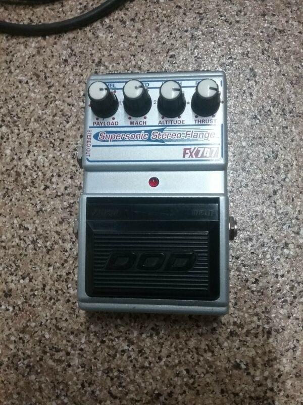 DOD FX747 Supersonic Stereo Flange