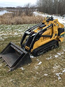 Mini excavator and track loader for hire  Excavation trenching Edmonton Edmonton Area image 6