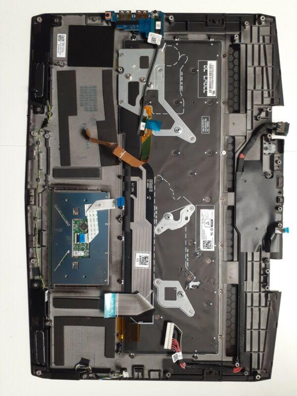 DELL Alienware M17 AWM17 Laptop Palmrest w/Touchpad US Keyboard black GYGKG