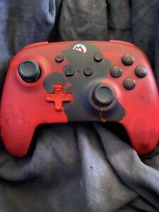 Nintendo Switch PowerA Enhanced Wireless Controller Mario Silhouette Concord Canada Bay Area Preview