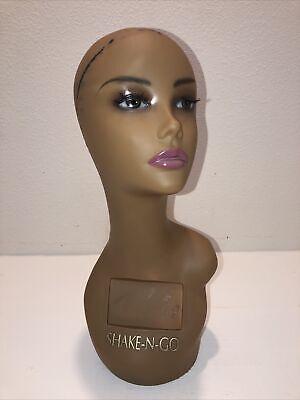 Realistic Mannequin Head For Wigsjewelryhatsemp087