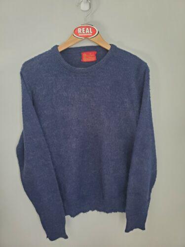 Vintage Sears Mohair Sweater Cobain Fuzzy Grunge Men