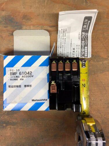 FC-15N Matsushita Contactor NIB BMFT6154-2N 3P+1a 200-220VAC Coil