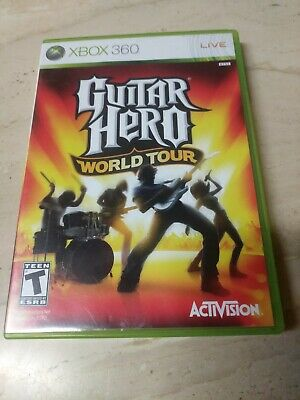Guitar Hero World Tour Xbox 360 for sale  Shipping to Nigeria