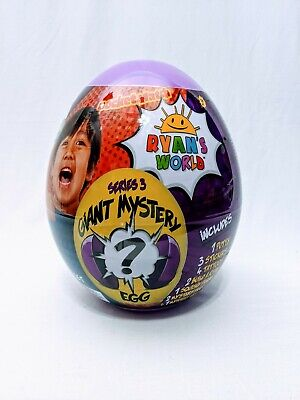 RYAN'S WORLD Giant Mystery Egg Series 3 - BRAND NEW - SEALED #