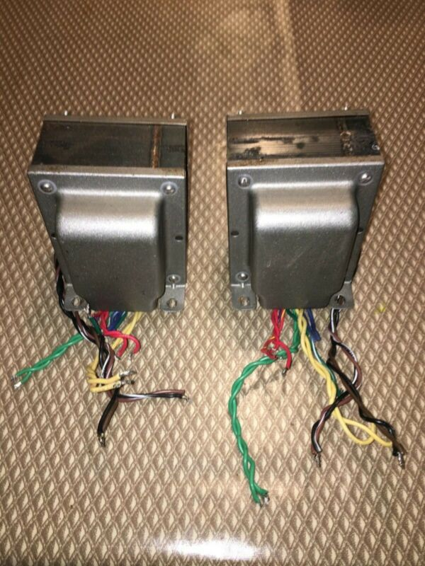 Power Transformers, 1 Pair for 300B, 2A3, EL34, 6L6 amplifiers
