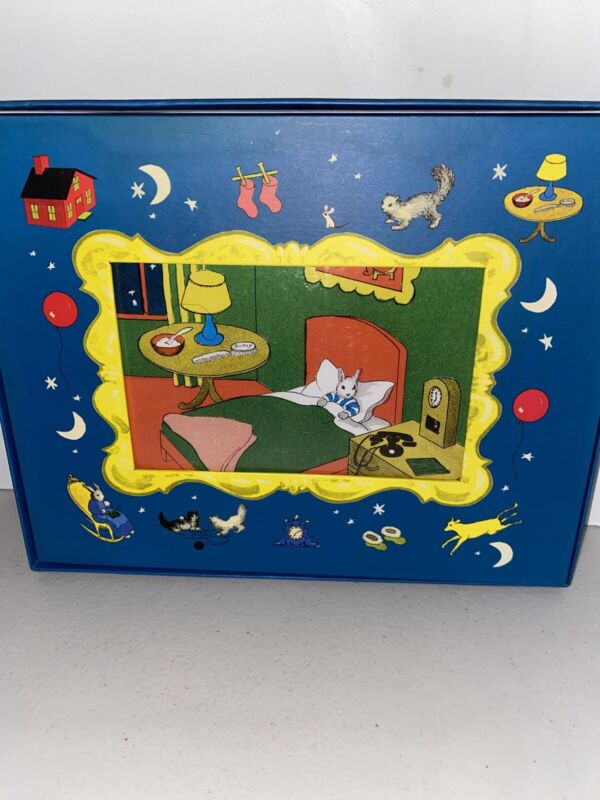 Goodnight Moon Picture Frame Peaceable Kingdom Press New 2000 Nursery Blue