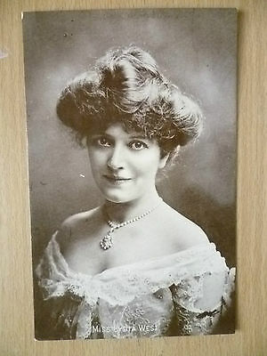 Postcard- Theater Actresses MISS LYDIA WEST
