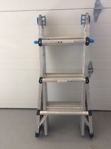 Multi Function Ladder New $401+Tax! 2 yrs old