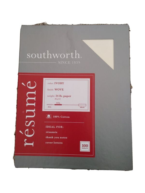 Southworth Company R14ICF Resume Paper