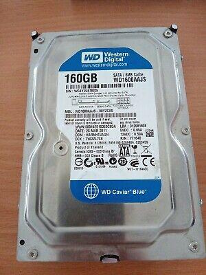 """Western Digital Caviar Bleu 160GB SATA II 3Gb/S HDD 3.5 """" 7200rpm 8MB WD1600AAJS"""
