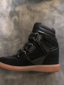 ALDO Suede Wedge Boots - Size 7 Ladies'