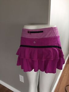 Size 4 lululemon shorts and skirts