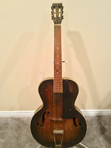 Archtop Guitar Late 1930s