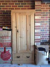Antique pine wardrobe Baldivis Rockingham Area Preview