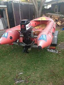 Surf Rescue Boat - 25hp motor and trailer Patterson Lakes Kingston Area Preview