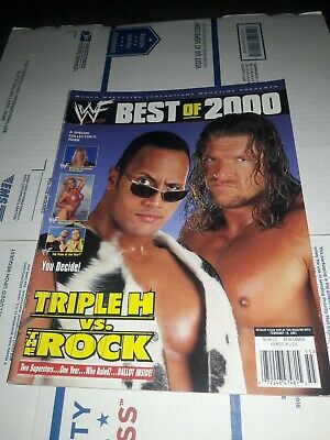 WWF Best of 2000, Triple H Vs The Rock, February 19,