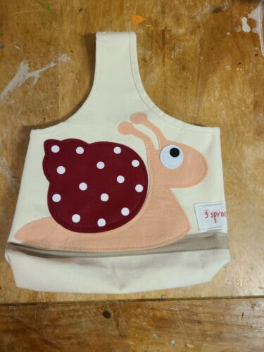 """3 Sprouts """"Snail"""" Baby/Kids Storage Caddy"""