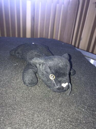 beanie baby velvet black panther plush 1995