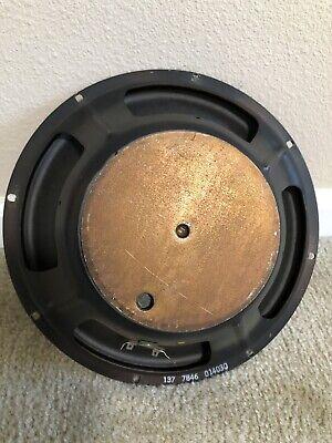 1 Vintage Fender Speaker 12inch -16 Ohm