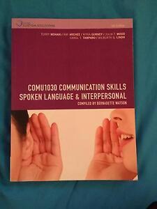 Communication Skills: Spoken Language & Interpersonal COMU1030 Eight Mile Plains Brisbane South West Preview