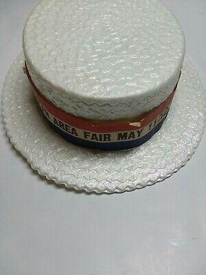 Vintage Randolph Area Fair May 11-12 may 1974 Jacobson Hat Companyfoam hat rare