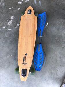 Longboard and ripstik