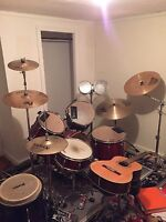 Guitar and Drum lessons