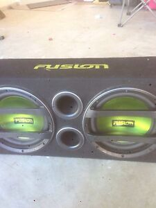 Subs with built in amp Ashfield Ashfield Area Preview