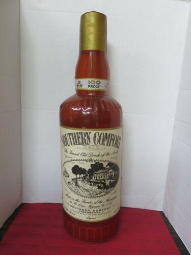 Vtg. Lg. Southern Comfort Whiskey Liqueur Advertising Inflatable Liquor Bottle