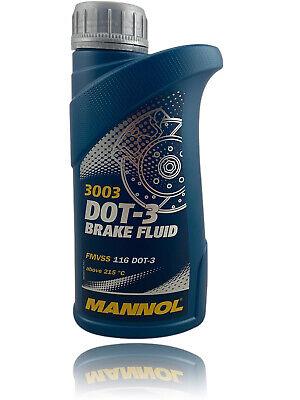 455g Bremsflüssigkeit MANNOL DOT3 DOT-3 SAE J1703 Brake Fluid