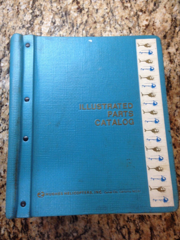 MCDONNELL DOUGLAS MODEL 369/500N HELICOPTER ILLUSTRATED PARTS CATALOG MANUAL