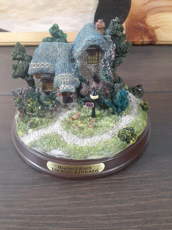 Thomas Kinkade Memories of Home Lighted Cottage Heather