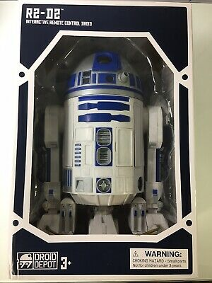 Used, STAR WARS R2-D2 INTERACTIVE REMOTE CONTROL DROID for sale  Shipping to Ireland