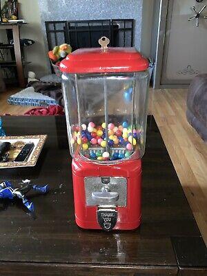 Acorn Bubble Gum Machine Vintage Good Condition
