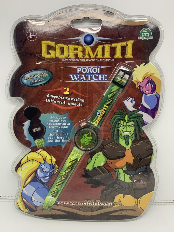 Gormiti Digital Watch Giochi Preziosi 2008 BRAND NEW SEALED