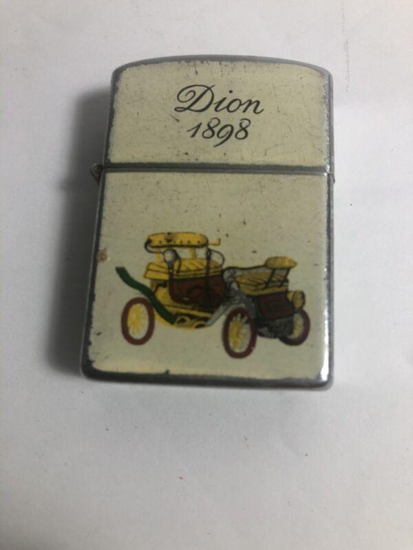 Vintage 1898 Dion Automobile Cigarette Lighter Made in Japan HEIT