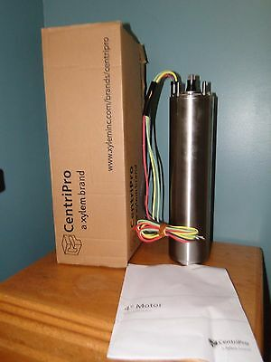 Goulds 12 Hp .5 Hp 4 Centripro Submersible Pump Motor 230v 1 Phase M05412