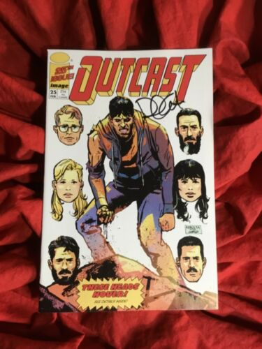 OUTCAST #25~BRIGADE HOMAGE VARIANT~ROBERT KIRKMAN STORY~SIGNED BY PAUL AZACETA~B