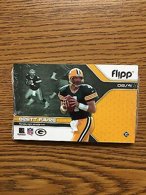 Brett Favre Green Bay Packers Flipp Book Sealed