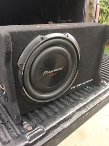 Shallow mount sub woofer