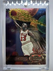 Michael Jordan 1997-98 Metal Universe #23, Rare Premium Metal MJ! Sharp! Rare!
